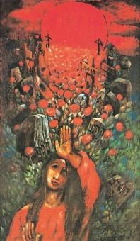 Maria från Magdala påskdagsmorgonen