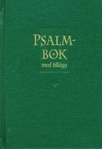 Psalmbok med tillägg - grön