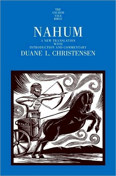 Nahum: The Anchor Yale Bible  volume 24F