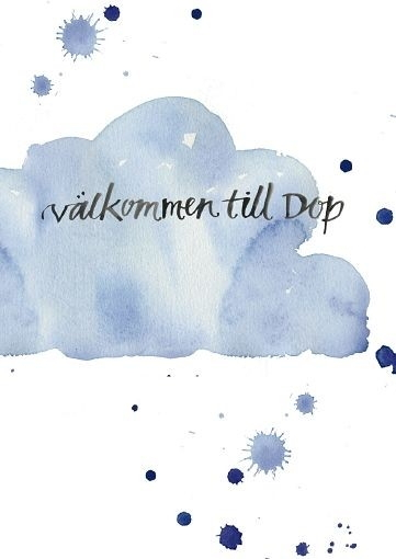 Välkommen till Dop (25-pack) - Anna Karin Hammar; Charlotta Folkelind