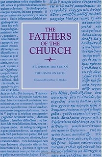 Hymns on Faith - Fathers of the Church (Hardcover) _130