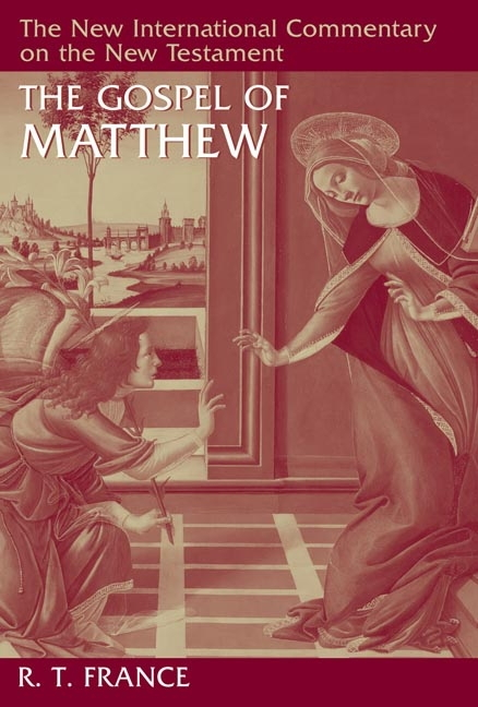 Gospel of Matthew - The New International Commentary on the New Testament