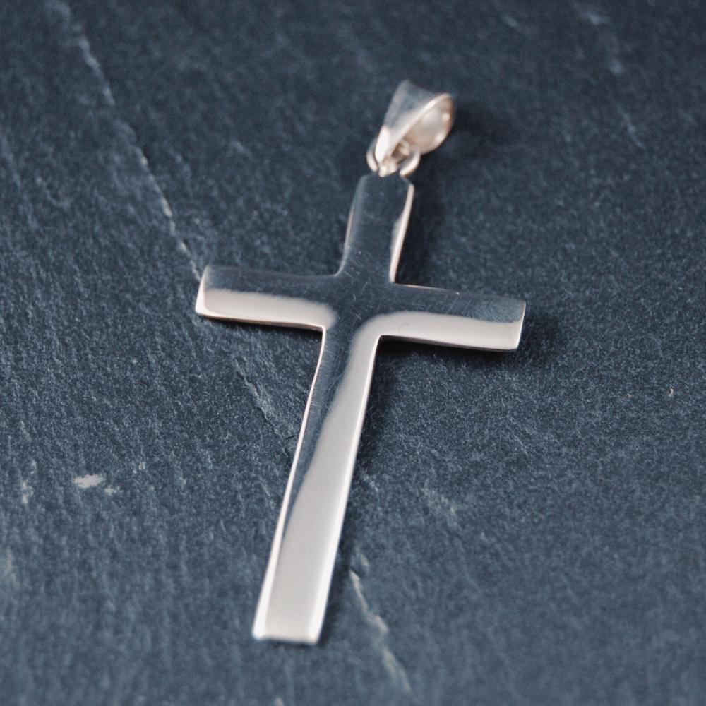 Kors, silver 4cm