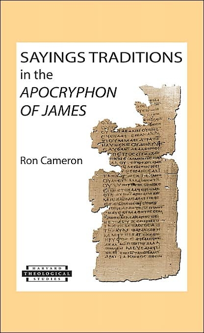 Sayings Traditions in the Apocryphon of James