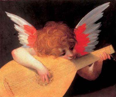 Musicerande ängel