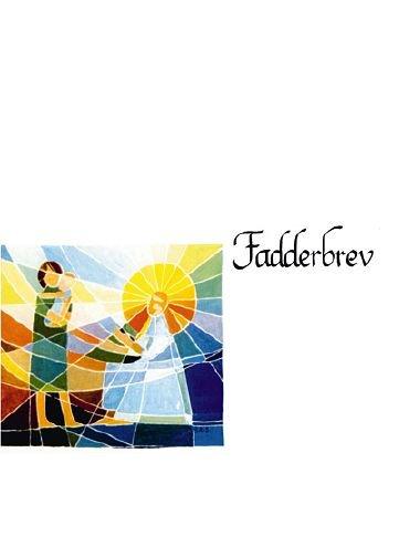 Fadderbrev, mosaik - 25-pack