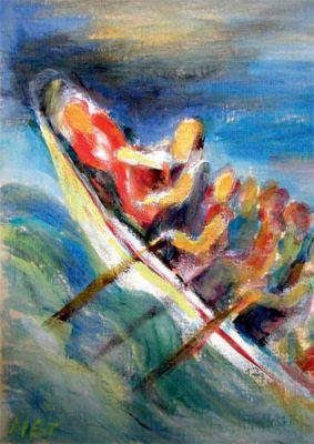 Med Jesus i båten