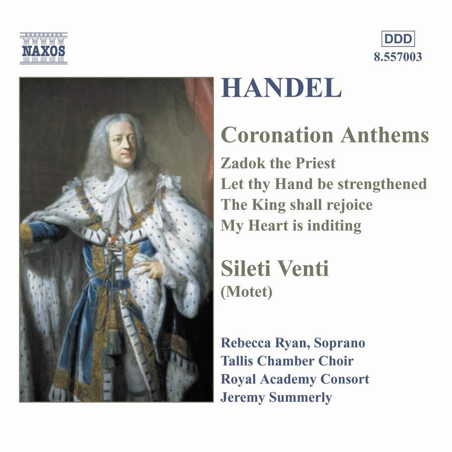 Coronation Anthems - Tallis Chamber Choir