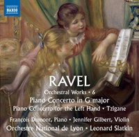 Ravel, Maurice - Orchestral Works, Vol. 6: Piano Concertos + Tzigane