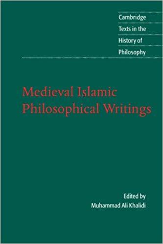 Medieval Islamic Philosophical Writings