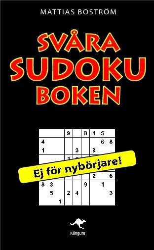 Svåra Sudoku-boken