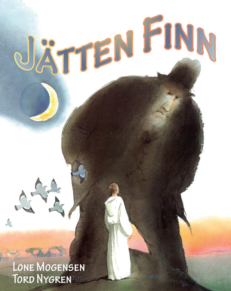 Jätten Finn - Illustrerad av Tord Nygren
