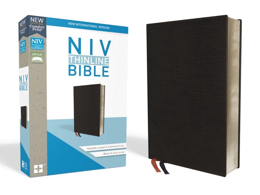 NIV Thinline Bible, black