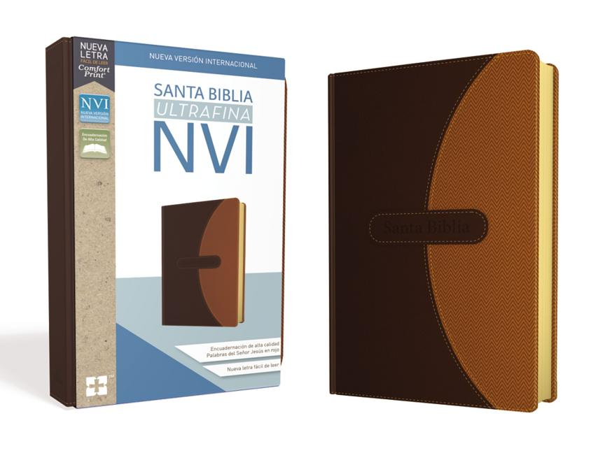 Santa Biblia NVI, Ultrafina, Café