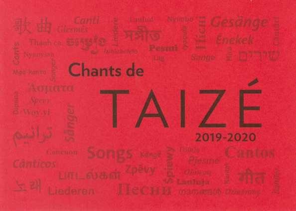 Chants de Taizé : 2019 - 2020