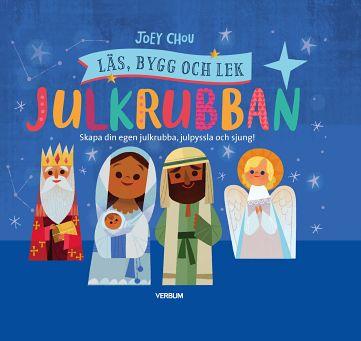 Julkrubban: läs, bygg och lek