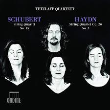 Schubert: String Quartet No. 15 / Haydn: String Quartet Op. 20, No.3