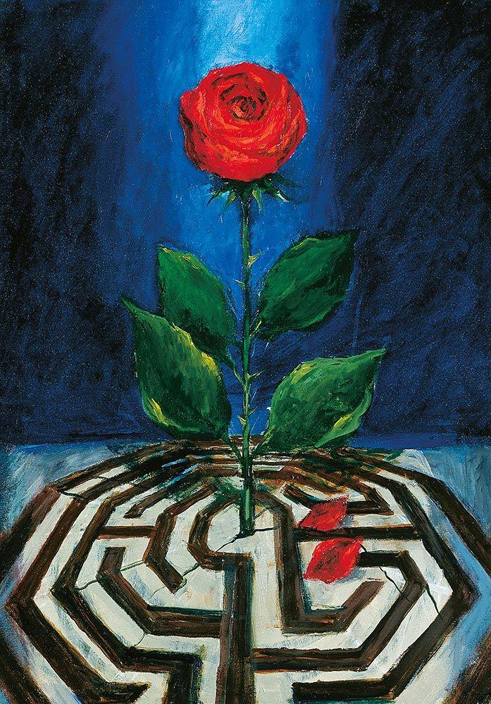 Ros och labyrint