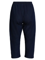 Capribyxor, dark blue denim