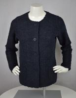 Jacket boucle navy