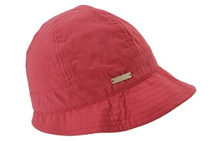 Hatt Cloche wine red