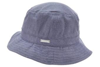 Hatt, bucket marinblå