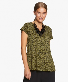 Top Digna Short sleeve lizard