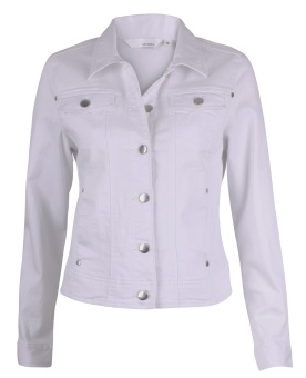 Lea Jeansjacket twill, white
