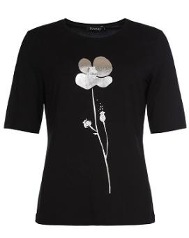 Topp black blomma