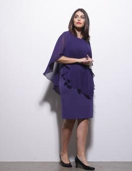 Festklänning plommon