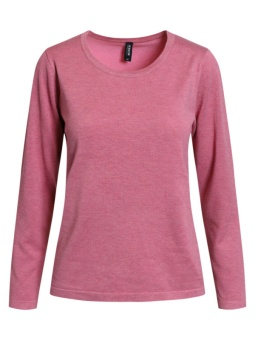 Pullover heather rose melange