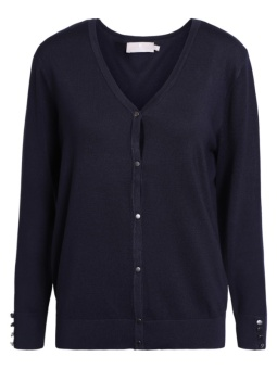 Cardigan midnight blue