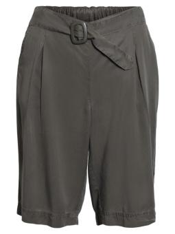 Shorts Tencel dusty olive