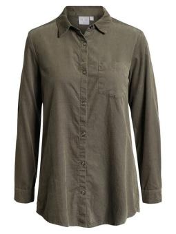 Manchesterskjorta olivgrön