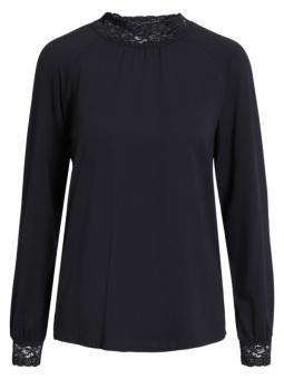 Blus jersey black