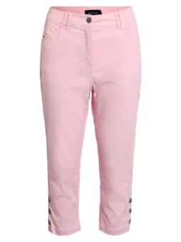 Capribyxor Victoria Curvy fit rosa
