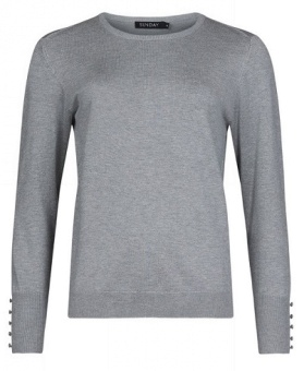 Pullover pale grey