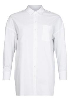 Skjorta vit m ficka