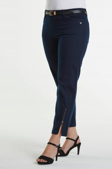 LauRie Piper regular cropped navy