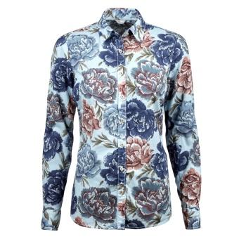 Shirt, feminine blue