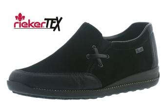 Rieker sneaker slip-on black Vidd E½