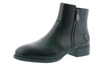 Rieker boots svarta Vidd F½