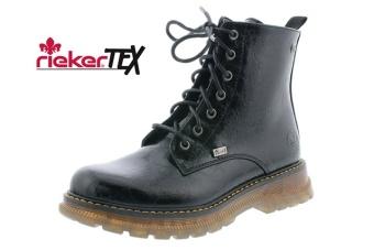 Rieker boots svarta Vidd F
