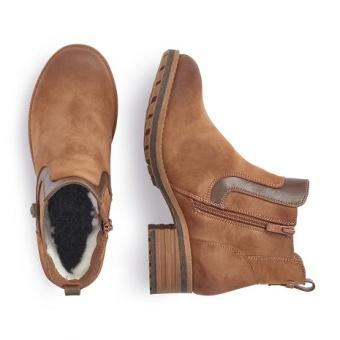 Damskor Boots ljusbruna Vidd F