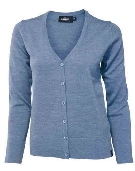 Cardigan cashwool denim