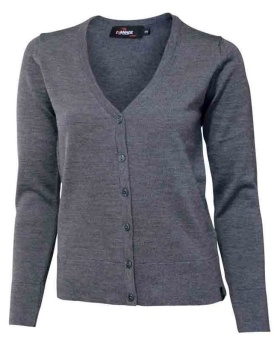 Cardigan cashwool grey