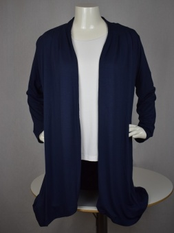 Cardigan long navy