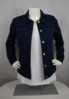 Jeansjacka midnight blue