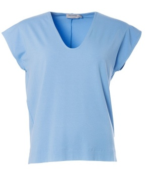 Topp Zoe light blue