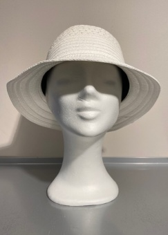 Hatt Cloche mix white